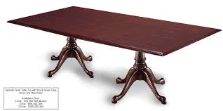 8 Foot Conference Table by 8 Foot Rectangle Queen Anne Conference Table