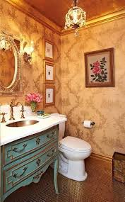 French Powder Room Strandedwind Home Inspiration Page 26