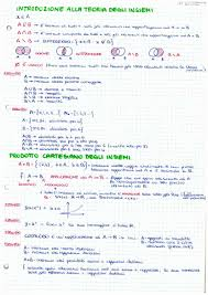 dispense analisi 1 matematica 1 appunti a mano