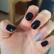 black u0026 silver nails cute nails pinterest black silver nails