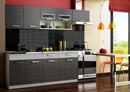 komplett küche komplett küche 240cm schränke küchenzeilen moreno schwarz grau