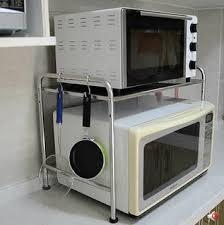 cuisine au micro ondes acier inoxydable étagère de la cuisine micro ondes four micro ondes