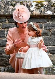 Pippa Wedding Britain U0027s Prince George And Princess Charlotte Look Adorable At