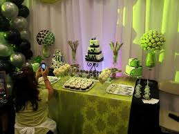 desserts table for an event expo concord ca 3 cakes mini