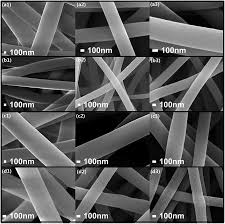 Integrated electrospun carbon nanofibers with vanadium and single