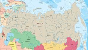 Barents Sea Map Russia