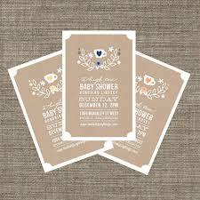 high tea baby shower invitation tea invite for baby