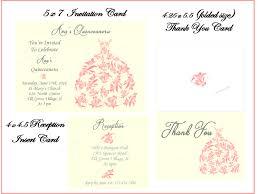 quinceanera invitation set quinceanera dress sweet sixteen