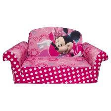 minnie s bowtique marshmallow furniture children s 2 in 1 flip open foam sofa