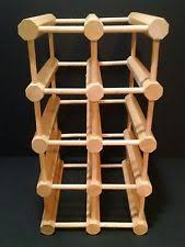 maple wine racks u0026 bottle holders ebay