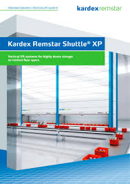 kardex remstar shuttle xp kardex systems pdf catalogues