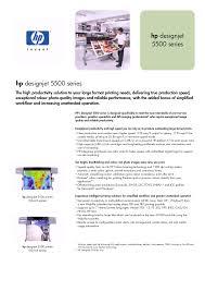 download free pdf for hp designjet 5500ps printer manual