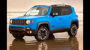 mojave jeep renegade 2016 jeep renegade sierra blue youtube