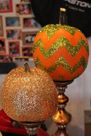 halloween party kansas city 2012 how to paint a glittered chevron pumpkin the magic brush inc