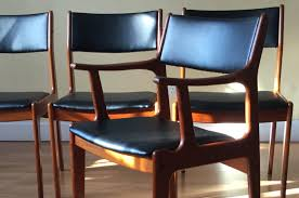 mid century modern dining room furniture how to re upholster the backs of danish midcentury modern teak