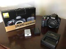 nikon d5300 black friday nikon d d5300 24 2mp digital slr camera black body only ebay