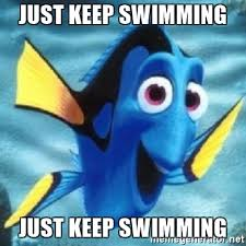 Happiness Is Meme Generator - just keep swimming just keep swimming dory meme generator