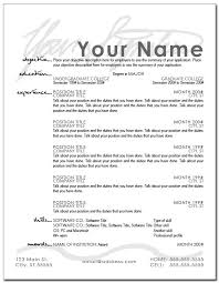 resume layout exles layout for a resume resume sle