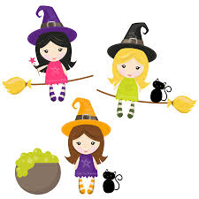 free clipart of halloween witches clipartix