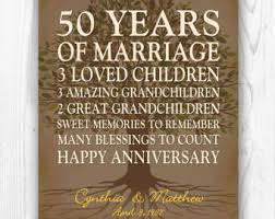 50th anniversary gift for parents 50th anniversary gift gold anniversary 50 years wedding