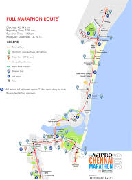 Nyc Marathon Route Map Tracing The Chennai Marathon Trail The Fifth Estate