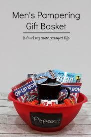 men gift baskets men s pering gift basket i my disorganized