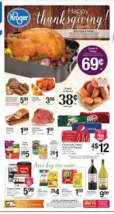 kroger thanksgiving ad nov 18th thru nov 26th kroger coupon