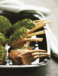 easter recipe mint crusted rack of lamb recipe