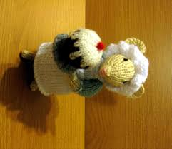 knitting dickensian party mouse cook random bits of projects