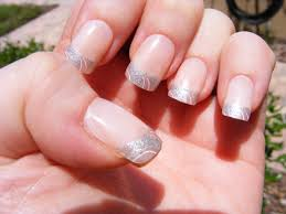 pink french tip nail designs money tips cute almond nails idolza