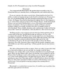 Sample Three Paragraph Essay 5 Paragraph Essay Format