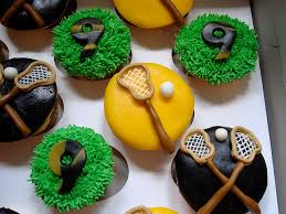 lacrosse cupcakes by designercupcakesandmore via flickr sports