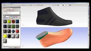 shoe design software icad3d design 3d shoe design software sneaker sle