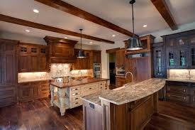 kitchen country style kitchen with color custom wood