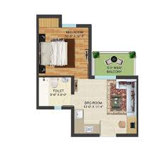 Small House Floor Plans Under 500 Sq Ft Golf Village By Supertech Group 1 2 3 Bhk Apartments In Yamuna