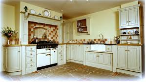 Kitchen Ideas Cream Cabinets Furniture Elegant Dark American Woodmark With Mosaic Tile