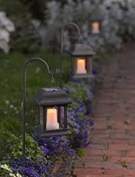 Best Solar Garden Lights Solar Outdoor Hanging Light And Best 25 Garden Lights Ideas On