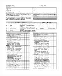 blank report card template sle report card 7 documents in pdf word