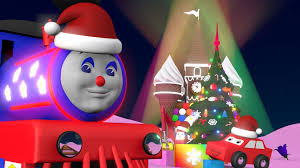 christmas cartoons for children choo choo train celebrates new