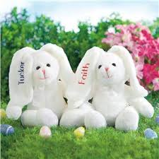 personalized easter bunny a baby gift for their easter personalize it with their
