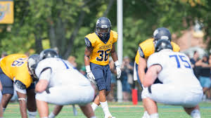 bentley college football falls to bentley 17 7 in home opener merrimack