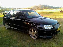 2001 hyundai accent information and photos zombiedrive