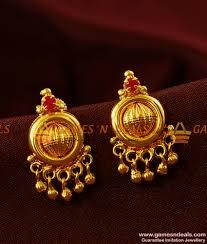 kerala earrings ad kerala type jhumki design imitation ear rings