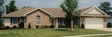 brick home designs fair 70 single story home designs decorating inspiration of image