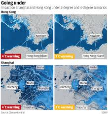 Sea Level Map Usa by Rising Sea Levels Set To Displace 45 Million People In Hong Kong