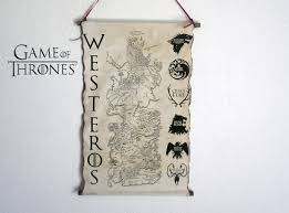Got Map Map Of Westeros Game Of Thrones Map Got Map Poster Game Of