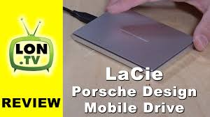 lacie porsche design mobile usb c hard drive review 2tb model