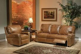 Distressed Leather Sofa by Living Room Distressed Leather Reclining Sectional Distressed