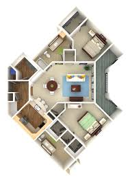 Floor Plan Renderings Community College Campus Master Plan 3d Rendering Prevision 3d