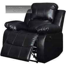 Black Leather Recliner Black Leather Recliner Electric Power Wall Hugger Chair Lazy Boy